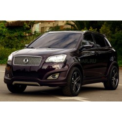Авточехлы BM для SsangYong Action New  с 2011 г. в Донецке
